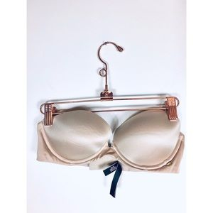 5 for $25 VS nude strapless bra 34C